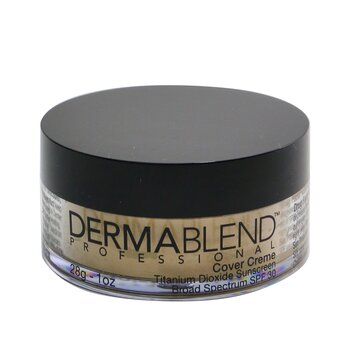 Dermablend 皮膚專家 高效覆蓋粉底霜SPF30 (色澤飽滿) Cover Creme Broad Spectrum - # Warm Ivory 28g/1oz - 粉底及蜜粉