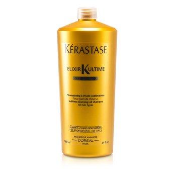 Kerastase Elixir Ultime Олео-Комплекс Нежный Очищающий Шампунь с Маслами (для Всех Типов Волос)  1000ml/34oz