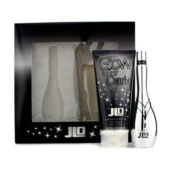 J. Lo Glow After Dark Набор: Туалетная Вода Спрей 50мл/1.7унц + Night Bright Лосьон для Тела 200мл/6.7унц 2pcs