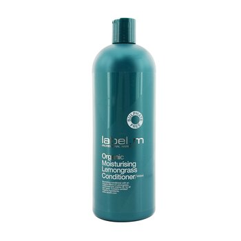 Organic Moisturising Lemongrass Conditioner (Nourishing Conditioner For All Hair Types) (1000ml/33.8oz)