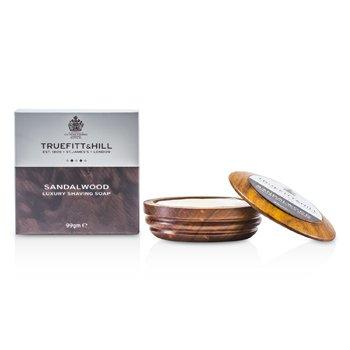 Sandalwood Luxury Shaving Soap (In Wooden Bowl) (99g/3.3oz)