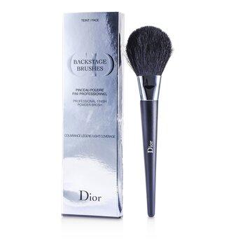 Backstage Brushes Professional Finish Powder Foundation Brush (Light Coverage) (3.7ml/0.12oz)