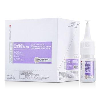 Goldwell Dual Senses Сыворотка для Защиты Цвета для Светлых и Мелированных Оттенков (для Густых и Жестких Окрашенных Волос)  12x18ml/0.6oz