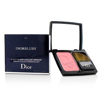 DiorBlush Vibrant Colour Powder Blush - # 876 Happy Cherry (7g/0.24oz)