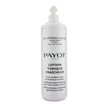 Payot Les Demaquillantes Lotion Tonique Fraicheur Отшелушивающий Лосьон для Сияния Кожи - для Всех Типов Кожи (Салонный Размер) 1000ml/33.8oz