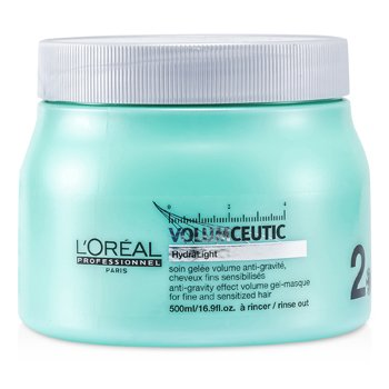 Professionnel Expert Serie - Volumceutic Anti-Gravity Effect Volume Gel-Masque (For Fine and Sensitized Hair) (500ml/16.9oz)