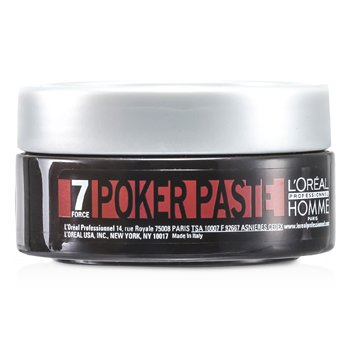Professionnel Homme Poker Paste (Reworkable Compact Paste, Extreme Hold) (75ml/2.5oz)