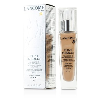 Teint Miracle Bare Skin Foundation Natural Light Creator SPF 15 - # 02 Lys Rose (30ml/1oz)