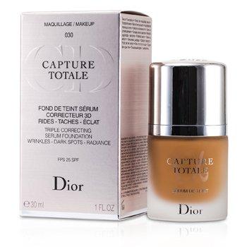 Christian Dior Capture Totale Тройная Корректирующая Основа Сыворотка SPF25 - # 030 Средний Беж 30ml/1oz