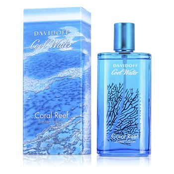 Davidoff Cool Water Coral Reef EDT Spray (Limited Edition) 125ml/4.2oz  men