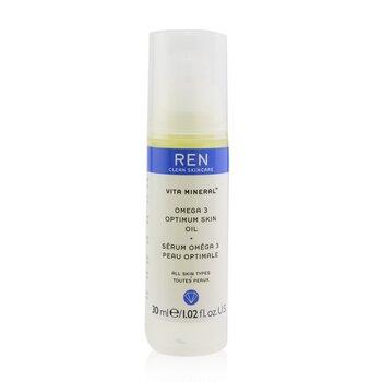 Ren Vita Mineral Omega 3 Optimum Сыворотка Масло (для Сухой, Чувствительной и Зрелой Кожи) 30ml/1.02oz