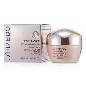 Shiseido Benefiance WrinkleResist24 Дневной Крем SPF 18 50ml/1.8oz