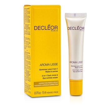 Decleor Aroma Lisse 2-в-1 Средство против Морщин и Темных Кругов вокруг Глаз 15ml/0.5oz