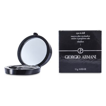 Giorgio Armani Eyes to Kill Тени для Век Соло - # 01 Обсидиан 1.5g/0.053oz