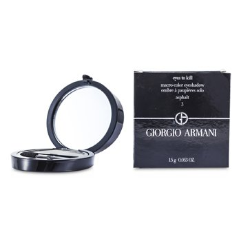 Giorgio Armani Eyes to Kill Тени для Век Соло - # 03 Асфальт 1.5g/0.053oz
