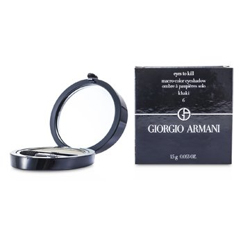 Giorgio Armani Eyes to Kill Тени для Век Соло - # 06 Хаки 1.5g/0.053oz