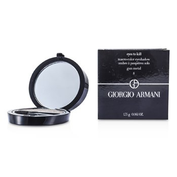 Giorgio Armani Eyes to Kill Тени для Век Соло - # 08 Металл 1.75g/0.061oz