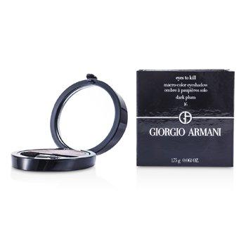 Giorgio Armani Eyes to Kill Тени для Век Соло - # 16 Темный Сливовый 1.75g/0.061oz