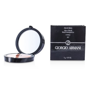 Giorgio Armani Cheek Fabric Румяна - # 307 Экстаз 4g/0.14oz