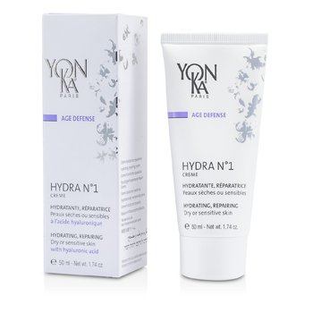 Age Defense Hydra No.1 Creme With Hyaluronic Acid - Hydrating, Repairing (Dry Or Sensitive Skin) (50ml/1.74oz)