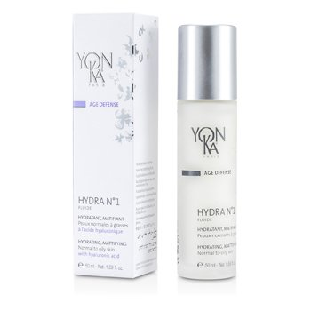 Age Defense Hydra No.1 Fluide With Hyaluronic Acid - Hydrating, Mattifying (Normal To Oily Skin) (50ml/1.69oz)
