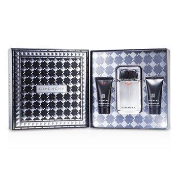 Givenchy Play Набор: Туалетная Вода Спрей 100мл/3.3унц + Гель для Душа 50мл/1.7унц + Гель после Бритья 50мл/1.7унц 3pcs
