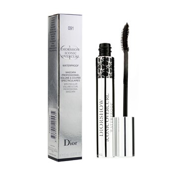 Diorshow Iconic Overcurl Waterproof Mascara - # 091 Over Black (10ml/0.33oz)