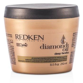 Redken Diamond Oil Deep Facets Интенсивное Средство на Основе Масел (для Тусклых, Поврежденных Волос) 250ml/8.5oz