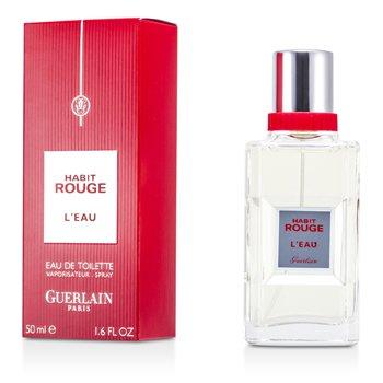 Guerlain Habit Rouge LEau Туалетная Вода Спрей 50ml/1.6oz