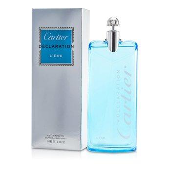 Cartier Declaration L'Eau EDT Spray 100ml/3.3oz  men