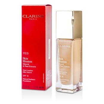 Clarins Skin Illusion Натуральная Сияющая Основа SPF 10 - # 112.5 Карамель 30ml/1.1oz