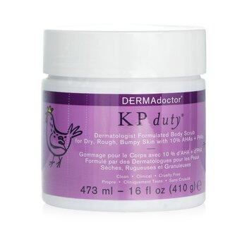 KP Duty Dermatologist Formulated Body Scrub (473ml/16oz)
