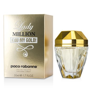 Paco Rabanne Lady Million Eau My Gold! Туалетная Вода Спрей 50ml/1.7oz