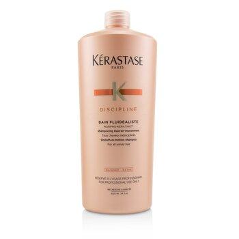 Discipline Bain Fluidealiste Smooth-In-Motion Shampoo (For All Unruly Hair) (1000ml/34oz)