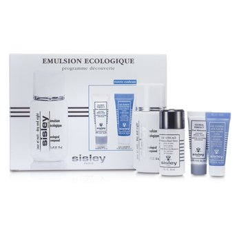 Sisley Ecological Compound Discovery Набор: Ecological Compound Дневное и Ночное Средство 50мл, Global Perfect 10мл, Express Flower Гель 10мл... 4pcs
