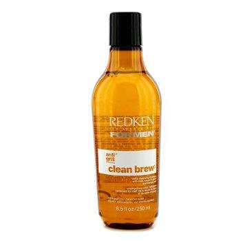 Redken Men Clean Brew Экстра Очищающий Шампунь (Очищает Волосы, Балансирует Кожу Головы) 250ml/8.5oz