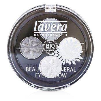 Lavera Beautiful Минеральные Тени для Век 4 Оттенка - # 01 Дымчатый Серый 4x0.8/0.026oz