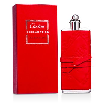 Cartier Declaration EDT Spray (Leather Sheat/ Edition Prestige) 100ml/3.3oz  men