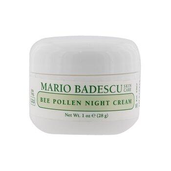 Bee Pollen Night Cream - For Combination/ Dry/ Sensitive Skin Types (29ml/1oz)