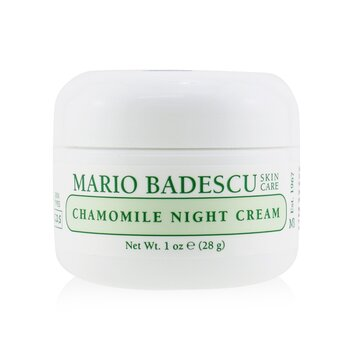 Chamomile Night Cream - For Combination/ Dry/ Sensitive Skin Types (29ml/1oz)