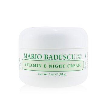 Vitamin E Night Cream - For Dry/ Sensitive Skin Types (29ml/1oz)