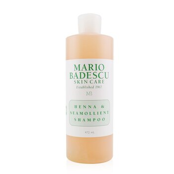 Henna & Seamollient Shampoo (For All Hair Types) (472ml/16oz)
