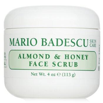 Almond & Honey Non-Abrasive Face Scrub - For All Skin Types (118ml/4oz)