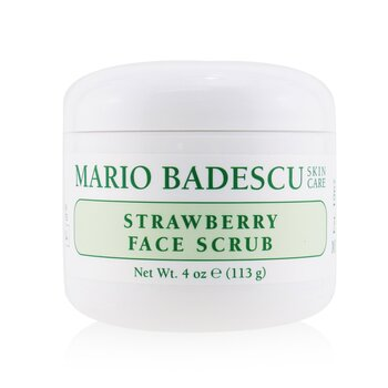 Mario Badescu 草莓嫩白代謝霜 Strawberry Face Scrub - 所有膚質適用 - 去角質和煥膚