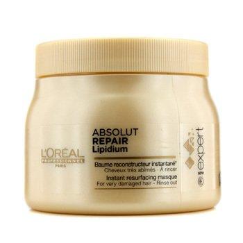LOreal Professionnel Expert Serie - Absolut Repair Lipidium Мгновенная Восстанавливающая Маска (для Очень Поврежденных Волос) 500ml/16.9oz