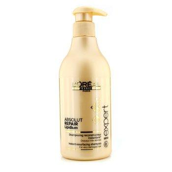 LOreal Professionnel Expert Serie - Absolut Repair Lipidium Мгновенный Восстанавливающий Шампунь (для Очень Поврежденных Волос) 500ml/16.9oz