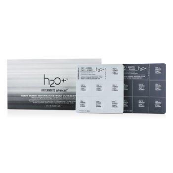 H2O+ Waterwhite Advanced Интенсивная Ночная Осветляющая Система 28x1ml/0.03oz