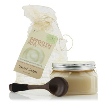 Fine Sea Salt Body Polish - Sweet Cream (255g/9oz)