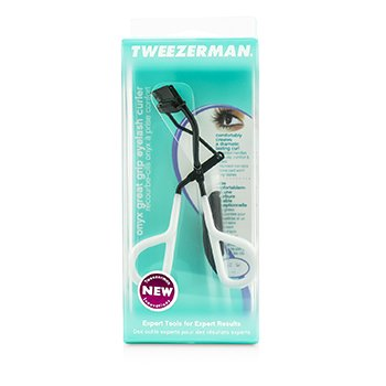 Tweezerman Onyx Great Grip Щипчики для Завивки Ресниц -