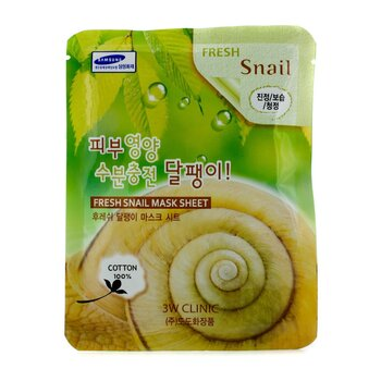 Mask Sheet - Fresh Snail (10pcs)
